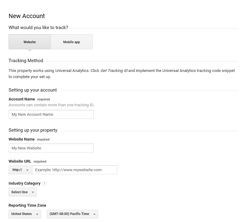 Signing Up Your Charity To Google Analytics