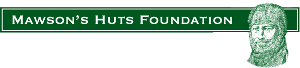 Logo from Mawson's Huts, An Australian Charity Dedicated To Preserving The Memories Of Our Great Antarctic Explorers And Educating The Community About Henry Mawson