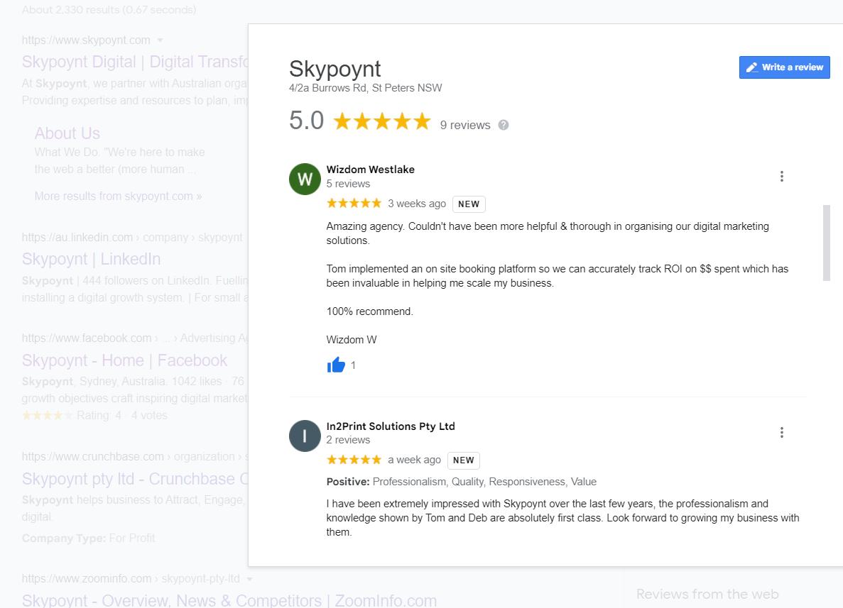 google-review-screenshot-conveyPPC